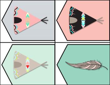 Editable Boho Theme Banners