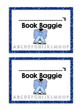 Editable Book Baggie / Independant Reading Books Labels