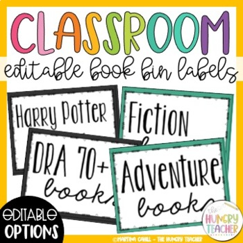 Editable Book Bin Labels Worksheets & Teaching Resources   TpT