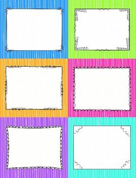 Editable Book Bin Labels/Desk Labels