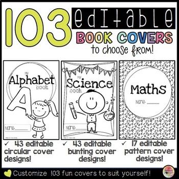 Book Covers - Editable Mega Pack