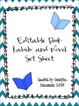 Editable Book Labels and Novel Tracking