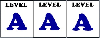 Editable Book Leveling Labels - Guided Reading