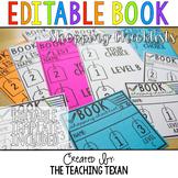 Editable Book Shopping Checklist/Cards