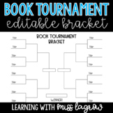 Editable Book Tournament Brackets for March Madness