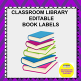 Editable Book labels