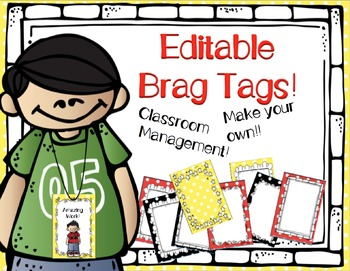 Editable Brag Tags