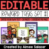 Reward Tags {Editable Set #1}