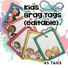 Editable Brag Tags (45 Templates!)