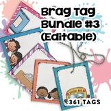 Brag Tags Editable Bundle
