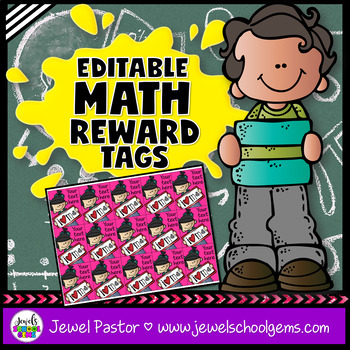 Editable STEM Brag Tags (Math Brag Tags)