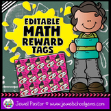 Editable STEM Reward Tags (Math Reward Tags)