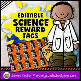 Editable STEM Reward Tags (Science Reward Tags)