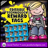 Editable STEM Reward Tags (Technology Reward Tags)