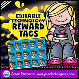 Editable STEM Reward Tags (Technology Reward Tags)