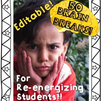 Brain Breaks - Editable