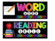 Objective Wall: Learning Goals {Editable} Black & Bright White & Colorful