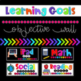 Objective Wall: Learning Goals {Editable}