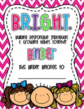 Editable Bright Communication Binder