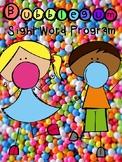 Editable Bubblegum Sight Word Program