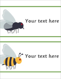 Editable Bug Labels