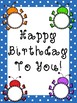 Editable Bug Themed Birthday Display!