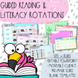 Editable Build-your-own Guided Reading Rotations Powerpoint