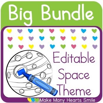 Editable Bundle: Space