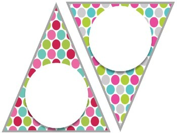 Editable Bunting {10 Versions Available}