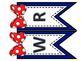 Editable Bunting Banner - Polka Dots and Bows