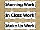 Editable Burlap Sterilite Drawer or Basket Labels