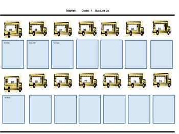 Editable Bus List