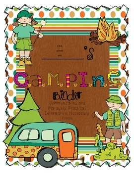 Editable CAMPING Communication Binder