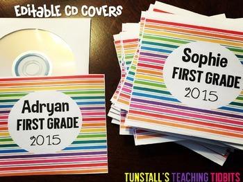 Editable CD Sleeve Covers