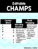 Editable CHAMPS Posters