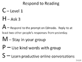 **Editable** CHAMPS Station - Learning Center Instructions