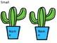 Editable Cactus Bulletin Board