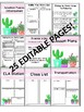 Editable Cactus Substitute Binder