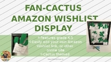 Editable Cactus&Succulent Themed Wishlist Display for Back to School BTS