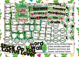 Editable!! Cactus Themed Labels, Tags  & Hall Passes