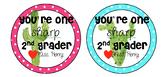 Editable Cactus Valentine's Day Tags