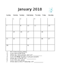 Editable Calendar Activity