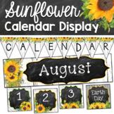 Editable Calendar Bulletin Board- Modern Farmhouse Classroom Decor