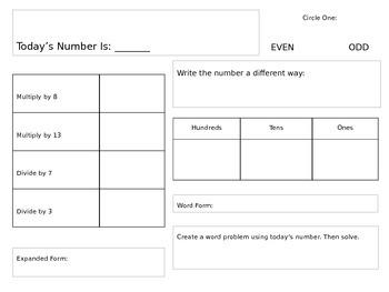 Editable Calendar Math