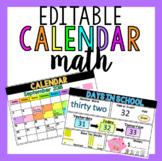 Editable Calendar Math PPT