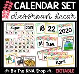 Editable Calendar Set   Calendar Cover Ups   Classroom Decors