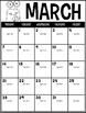 English, Spanish, & French Editable Calendars - Lifetime Updates Monster Edition