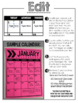 Editable Calendar Templates - Lifetime Updates {Upper Grade Edition}