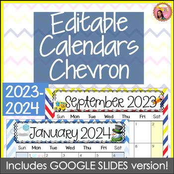 editable calendars 2018 2019 chevron july 2018 to december 2019
