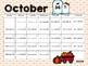 Editable Calendars